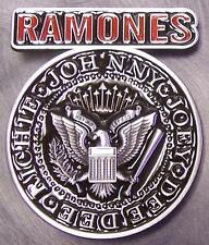 Pewter Belt Buckle Music The Ramones NEW