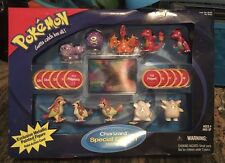 NIB RARE Pokemon TOMY Figures Charizard Special Edition Battle Set! Must See!