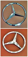 New Mercedes Benz Chrome Star Trunk Emblem Badge 90mm Car Autopart-Free Shipping