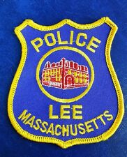 LEE, MASSACHUSETTS POLICE SHOULDER PATCH MA