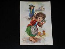 CARTE POSTALE - ENFANTS - L. VERNET - FILLETTE - ANNEES 1980