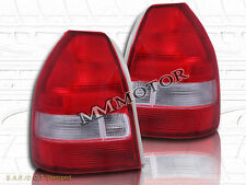 1996-2000 HONDA CIVIC TAIL LIGHTS HATCHBACK 3D 97 98 99