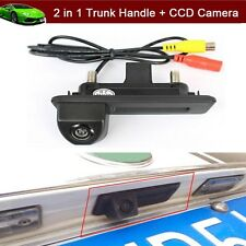 2 in 1 Trunk Handle +Reverse Camera Parking For Skoda Octavia Fabia Yeti Audi A1