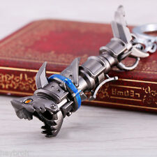 League Of Legends Game Weapon lol Keychain Jinx Cannon Key Ring Chain Charm Cool