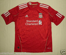 Liverpool FC / 2010-2012 Home - ADIDAS - JUNIOR Shirt / Jersey. Size: 152cm, 12y