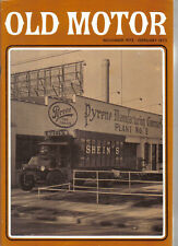 Old Motor Jan-Feb 1973  Vol 7 No 1 AJS Shein ERA R4D Cadillac AEC Railton cars +
