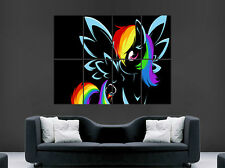 MY LITTLE PONY RAINBOW DASH Kids GIGANTE GRANDE WALL ART POSTER PICTURE
