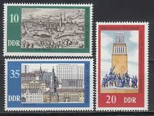 DDR East Germany 1975 ** Mi.2086/88 Stadt City Weimar 1000 Jahre