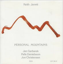 KEITH JARRETT  JAN GARBAREK  PALLE DANIELSSON    CD  PERSONAL MOUNTAINS ECM