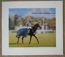 Montjeu print prix de l'arc de triomphe fine art photo horse racing