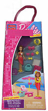 MegaBloks BARBIE Build 'n Style SPLASH TIME TERESA set 80205 MIB sealed