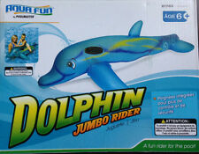 Poolmaster Dolphin Jumbo Rider Ride-On- Inflatable Float FREE SHIPPING