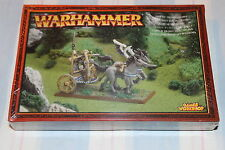 Games Workshop Warhammer High Elf Tiranoc Chariot Elves New BNIB Metal OOP