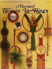 Craft Book: #PD1121 Macrame Things in Rings - Over 25 Patterns