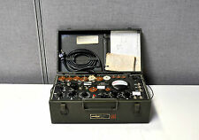 Rare Military WW11 Espey Vacuum Electron Tube Tester Signal Corps. stamped I-177