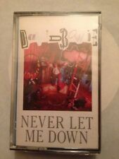 DAVID BOWIE - SPANISH CASSETTE SPAIN NEVER LET ME DOWN AGAIN