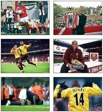 Arsenal Thierry Henry France Legend POSTCARD Set