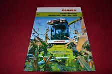 Claas Jaguar 820 860 840 880 Forage Harvester Dealers Brochure GDSD2