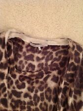 Gerard Darel Leopard wool twinset-top and cardigan