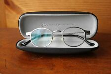 Class 1 Gray Grey Metal Frame Eyeglasses Glasses Made in Germany Round Circular