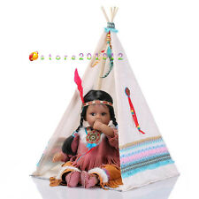 """20"""" Realistic Reborn Baby Silicone Vinyl Native American Indian Doll Collection"""
