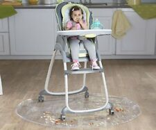 Nuby Floor Mat for High Chair - Baby Feeding Plastic Protector 127cm NEW