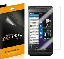 6 Clear Guard Film Screen Protector for BlackBerry 10 Z10 + cloth