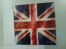 WEIHNACHTSKARTE - UNION JACK - HAPPY CHRISTMAS