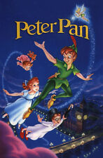 """PETER PAN Movie Poster [Licensed-NEW-USA] 27x40"""" Theater Size DISNEY (C)"""
