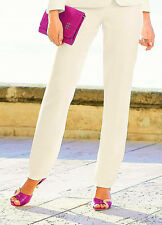 KALEIDOSCOPE IVORY TEXTURED TAILORED TROUSERS SIZE 20 BNWT RRP £65.00