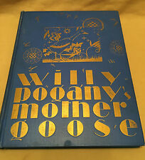 RARE Willy Pogany's Mother Goose SIGNED By Pogany Finest Art Deco Design!