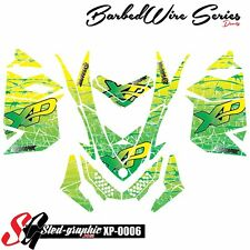 WRAP GRAPHICS DECAL KIT FOR SKI-DOO REV XP MXZ 2008 2009 2010 2012 2013 xp0006