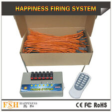 fireworks firing system 6 cues with 40pcs 3M safety igniters for sale,CE/FCC