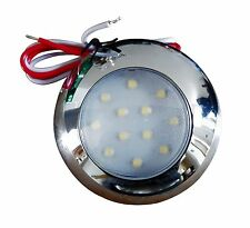 4 X Barco Yate 12 LED Luces Impermeable Interior/exterior 2W 240LM 12V ~ 28V DC