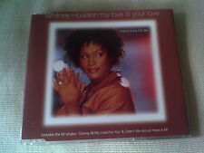 WHITNEY HOUSTON - MY LOVE IS YOUR LOVE - UK CD SINGLE - PART 2