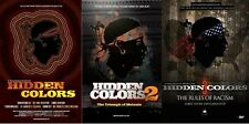 HIDDEN COLORS COLLECTION PART 1, 2 & 3 COMPLETE SPECIAL 3 DVD COLLECTION SET