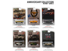 ANNIVERSARY COLLECTION SERIES 3 SET 6 CARS 1/64 DIECAST BY GREENLIGHT 27850
