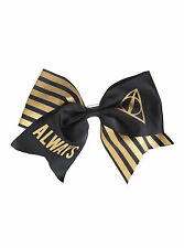 """7"""" Harry Potter Deathly Hallows ALWAYS Cosplay Cheer Hair Bow Pin Clip Dress-Up"""