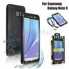Full Cover Swimming Waterproof Shockproof Dust Case For Samsung Galaxy Note 5