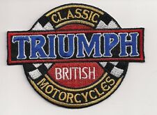 TRIUMPH MOTORCYCLES CLASSIC BRITISH ROUND PATCH
