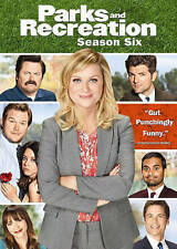 Parks and Recreation: Season Six DVD, 2014, 3-Disc Set New Still Sealed!!!