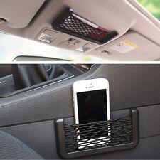 Mini Auto Car Storage Net String Pouch Bag GPS MP3 Phone Holder Pocket Organizer