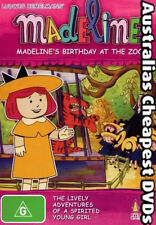 Madeline's Birthday At The Zoo DVD NEW, FREE POSTAGE WITHIN AUSTRALIA REGION 4