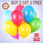 20 X Latex PLAIN BALOONS BALLONS helium BALLOONS Quality Party Birthday Wedding*