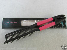 NUME PROFESSIONAL SALON HAIR STYLING COMB  Pink/Black NEW