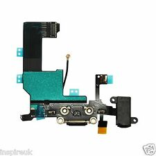 Iphone 5 Charging Port Charger dock flex cable connector plug replacement Black
