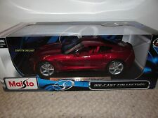 MAISTO 1/18 SPECIAL EDITION 2014 CHEVY CORVETTE C7 NEW IN BOX **AWESOME**
