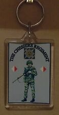 The Cheshire Regiment SLR Regiment key ring..