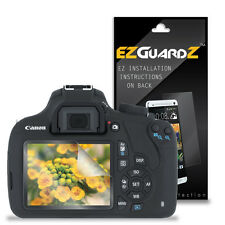 2X EZguardz LCD Screen Protector Cover HD 2X For Canon Rebel T5 (Ultra Clear)