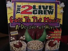 THE 2 LIVE CREW GOES TO THE MOVIES A DECADE OF HITS LP 1997 LIL' JOE XR 227-1 DJ